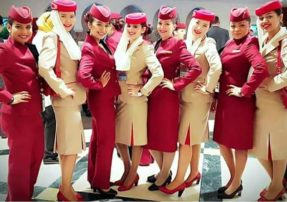 Qatar And Emirates Airline Cabin Crew