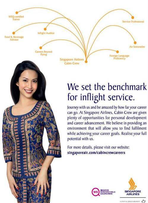 Singapore Airlines - World-class NG Cabin Crew