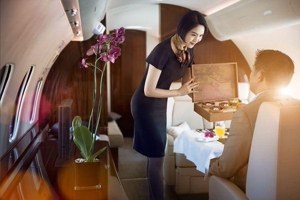VIP Cabin Crew jobs in the Middle East private aviation