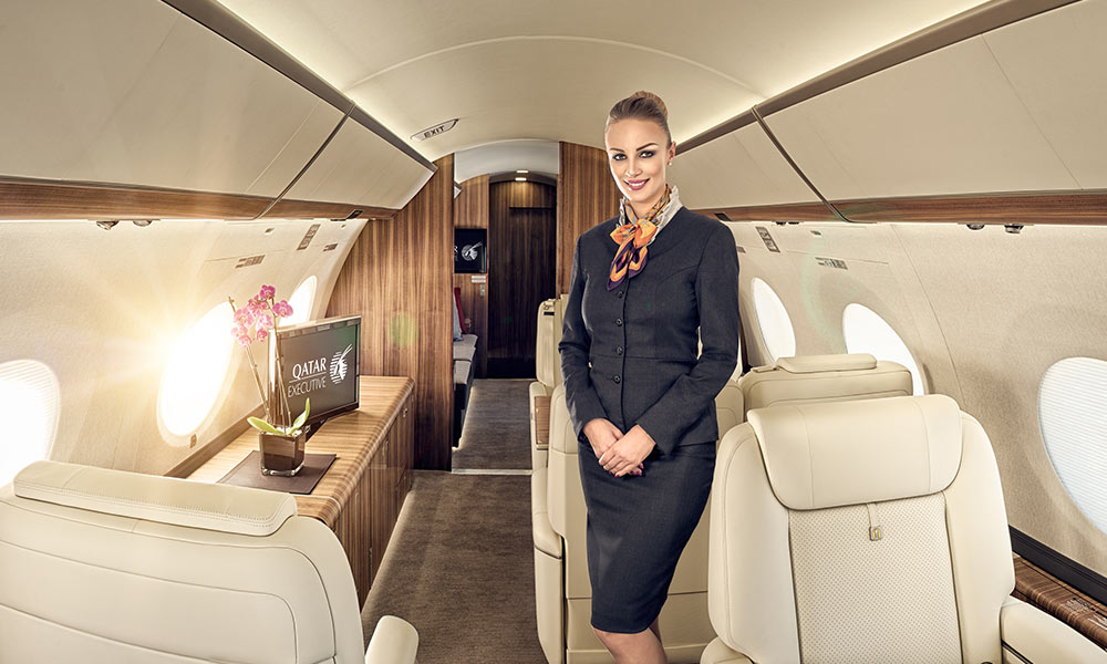 VIP Cabin Crew jobs in the Middle